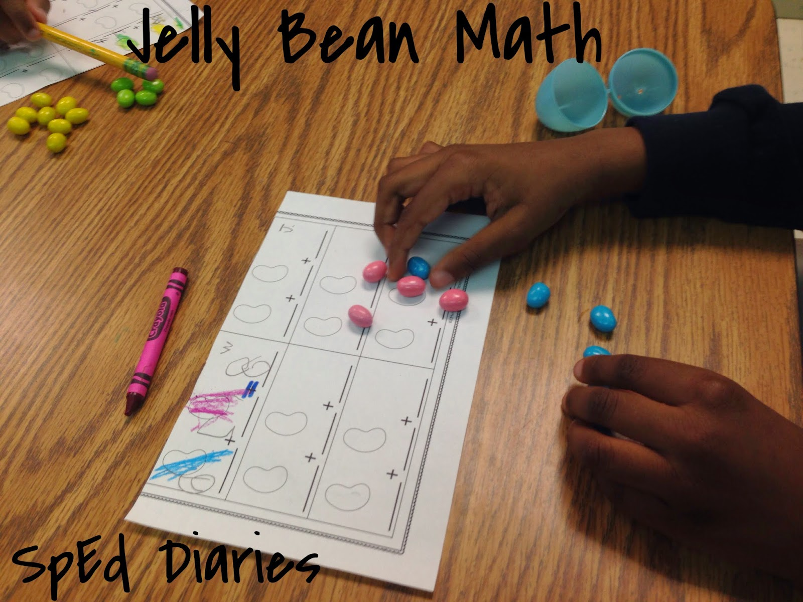 Diaries Of Some Sped Teachers Jelly Bean Math