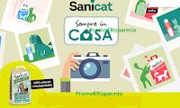 Logo Concorso Sanicat Semprein casa: vinci lettiere ecologiche Clean&Green