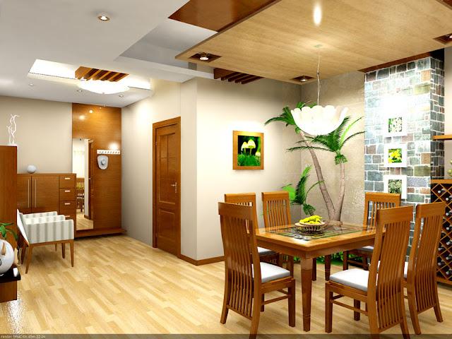 thiết kế phòng ăn chung cư 105 chu văn an