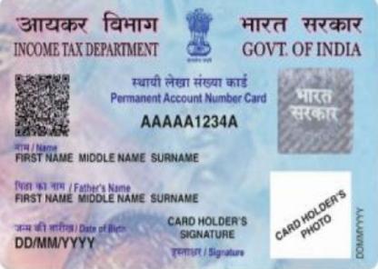 How To Apply For Duplicate Pan Card Reprint Pan Card Online