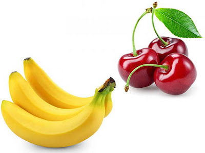 banana and cherry is beneficial for a good sleep