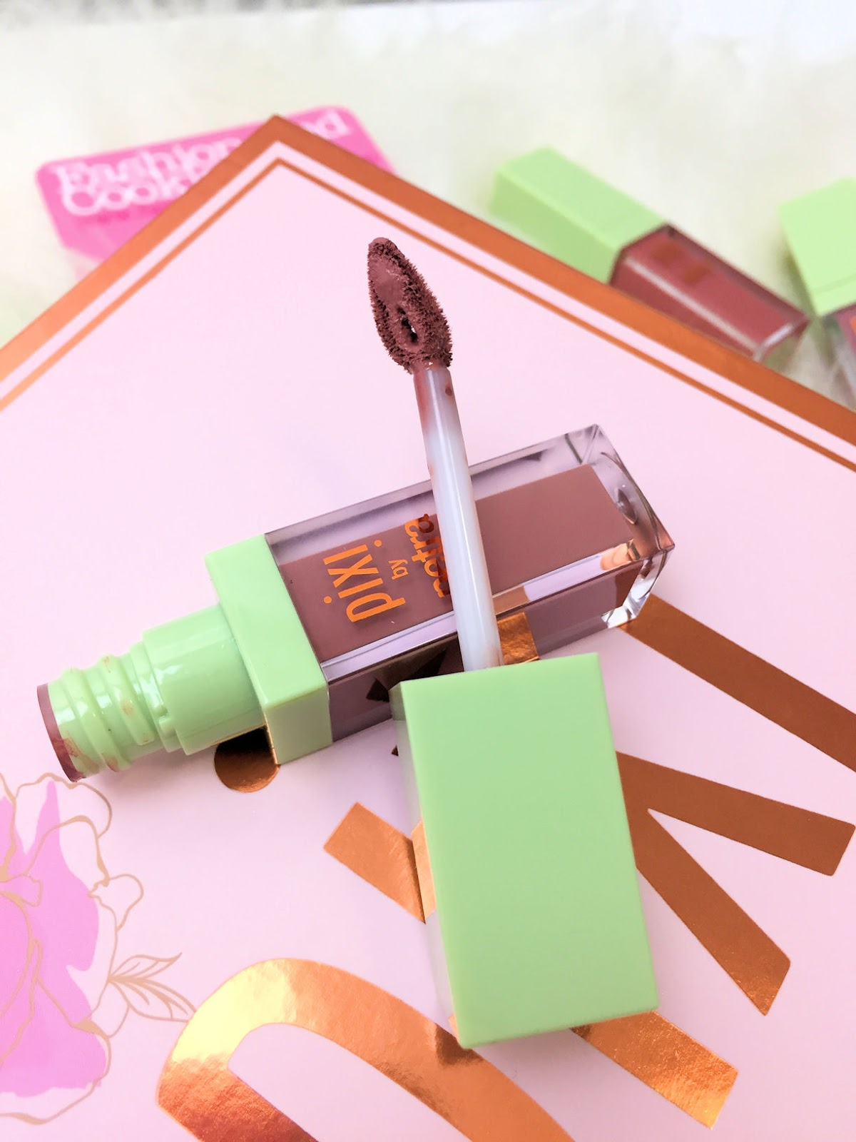 PIXI Beauty MatteLast Liquid Lip review on Fashion and Cookies beauty blog, beauty blogger