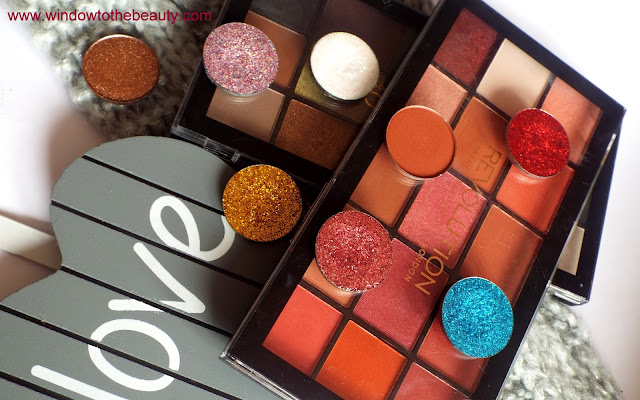 Revolution Eyeshadows review