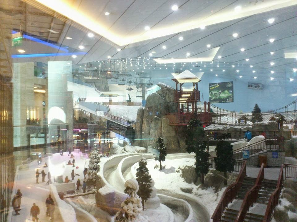 Ski-Dubai Mall of the Emirates