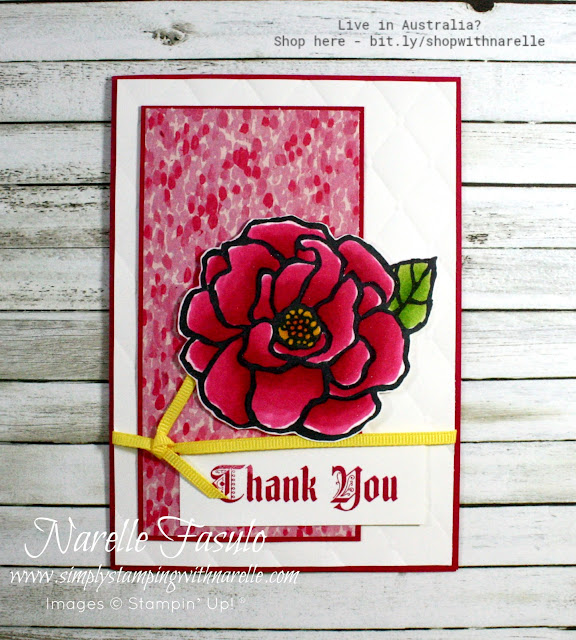 Make rich and vibrant projects with this lovely new colour to our range - Lovely Lipstick. See the range here - https://www3.stampinup.com/ECWeb/searchresults.aspx?dbwsdemoid=4008228