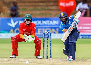 Sri Lanka beat Zimbabwe by 6 wickets in the finals