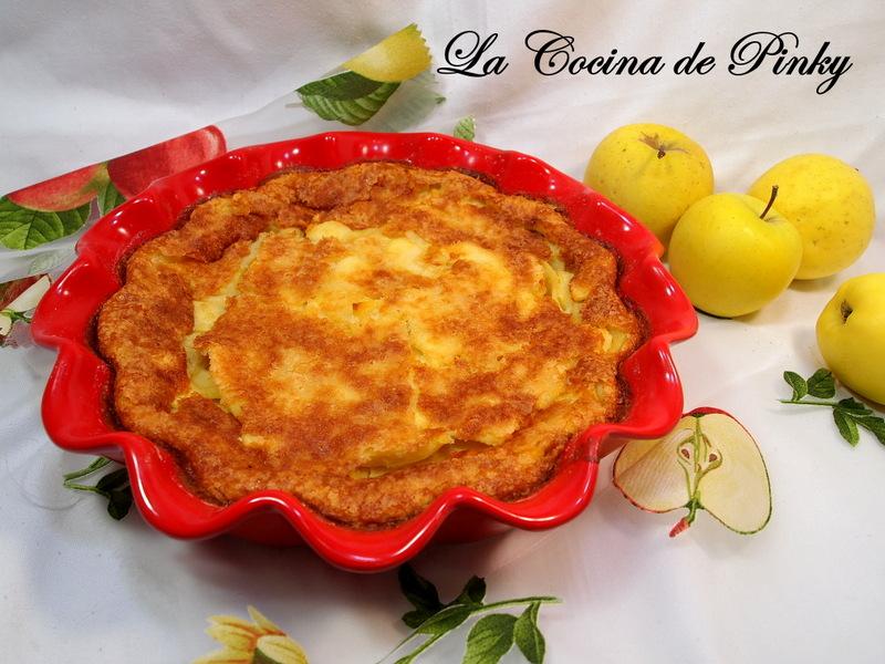 Pastel - Flan De Manzana