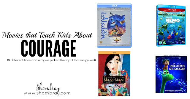 Movies that Teach Kids About Courage: 8 Different Titles