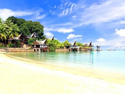 pantai pulau galang, wisata batam