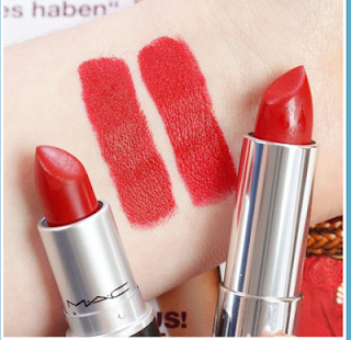 MAC Russian Red and Maybelline 970 Daring Ruby | MAC Lipstick Dupes | The Ultimate Guide | mac lipstick dupes list | lipstick dupes | MAC Lipstick Dupes | The Ultimate Guide | mac lipstick dupes list | lipstick dupes