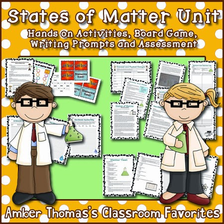 http://www.teacherspayteachers.com/Product/States-of-Matter-Unit-578103