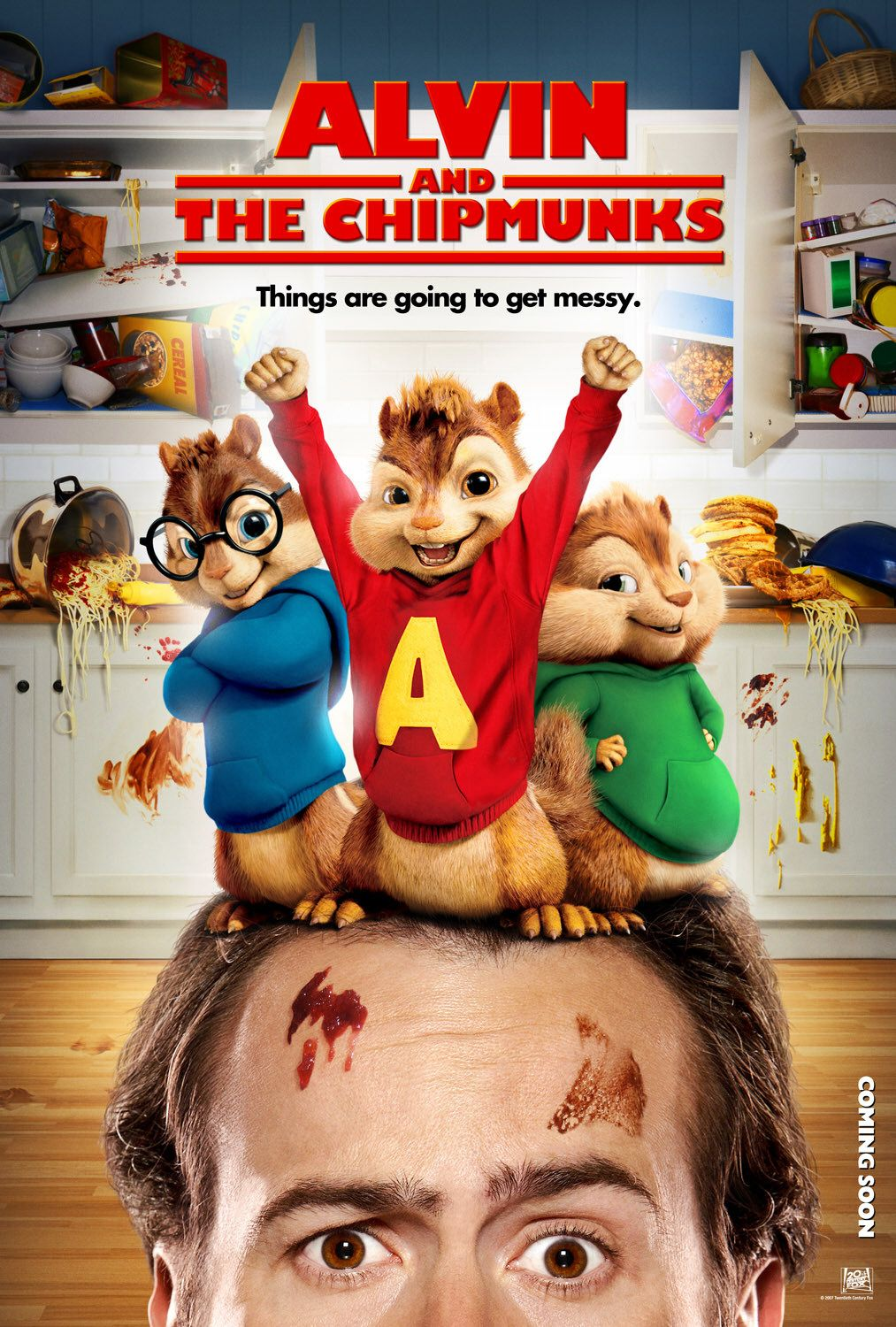 alvin and the chipmunks squeakquel meet monks