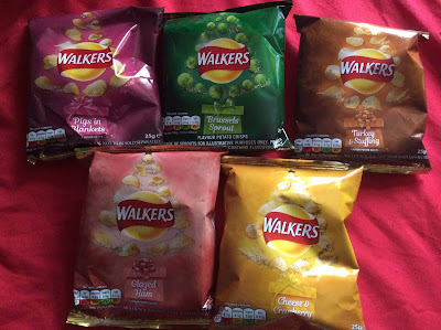 Walkers 2018 Christmas Crisps