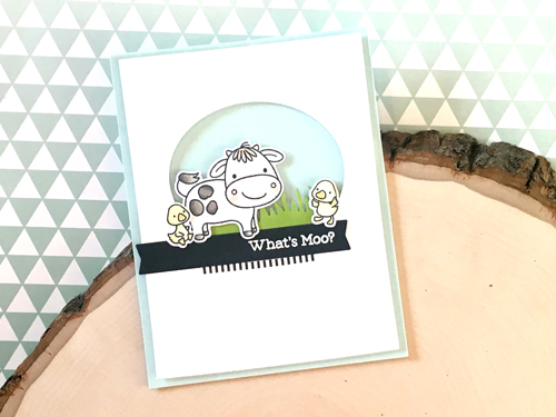 Handmade card from Heather Campbell featuring products from My Favorite Things #mftstamps