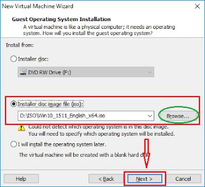 Tạo máy ảo với VMware Workstation - H03