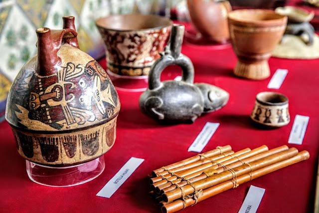 Peru recovers over 1700 stolen artefacts