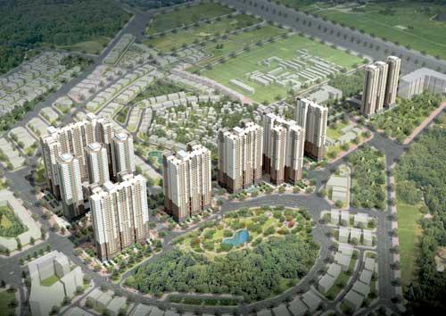 Toàn cảnh dự án chung cư Booyoung Vina
