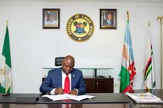 News: Governor Ambode reshuffles cabinet, sacks three Commissioners