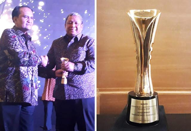 Dirut Jasa Tirta II Tersangka KPK Peraih Penghargaan Revolusi Mental