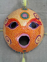 verna vogel papier-mache mask