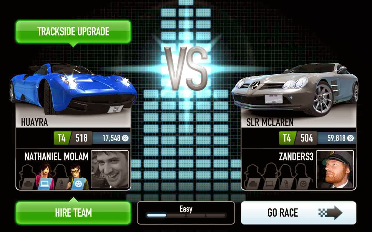CSR Racing for Android Phones, Review, System Requirements