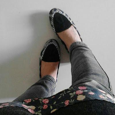 Sepatu Tenun Lombok (Hitam)