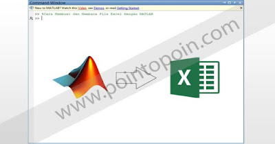 Membuat Dan Membaca File Excel Dengan MATLAB