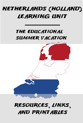 Join us on our educational trip around the world – the kids are learning all about the Netherlands (Holland) this week. Use these recipes, educational crafts, and facts in your homeschool or classroom! We study the map, create the flag, paint tulips, build windmills, and more to learn all about the culture and people of the Netherlands. #holland #netherlands