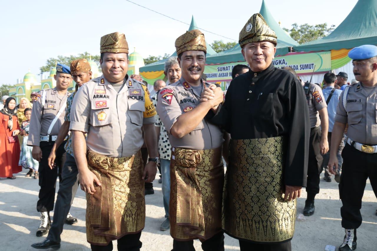 Masyarakat Melayu Sergai Siap Dukung Kapolda Sumut Sukseskan Pemilu 2019 dan Menangkal Berita Hoax