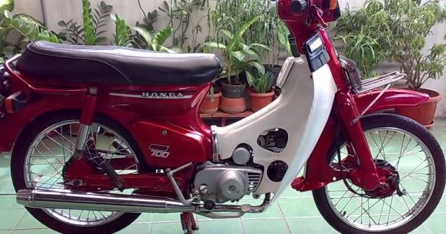 Harga Dan Spesifikasi Honda C-700 Super Cup