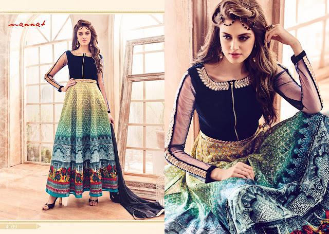 Party Wear Anarkali Salwar Suit Online Shopping