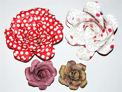 Spiral Rose Technique Tutorials