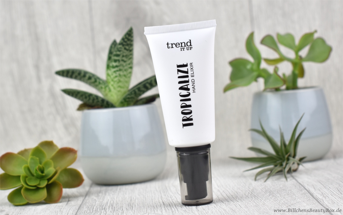 trend IT UP - Tropicalize Limited Edition - Review - Hand Elixir Handcreme