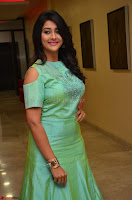 Pooja Jhaveri in Beautiful Green Dress at Kalamandir Foundation 7th anniversary Celebrations ~  Actress Galleries 059.JPG