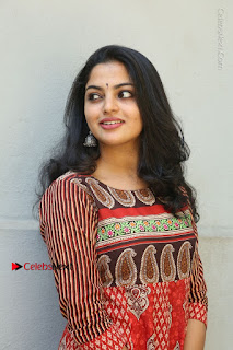 Telugu Actress Nikhila Vimal Latest Stills in Anarkali Dress  0090.JPG