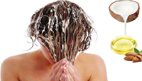 santan kelapa menghitamkan rambut alami