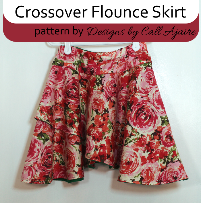 how to make a flounce skirt pattern