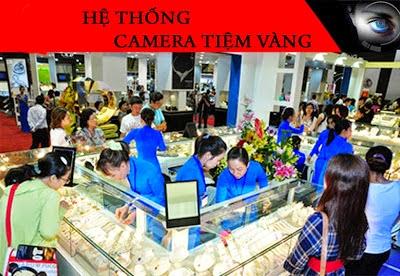 Lắp đặt camera tại tiệm vàng bảo vệ an ninh