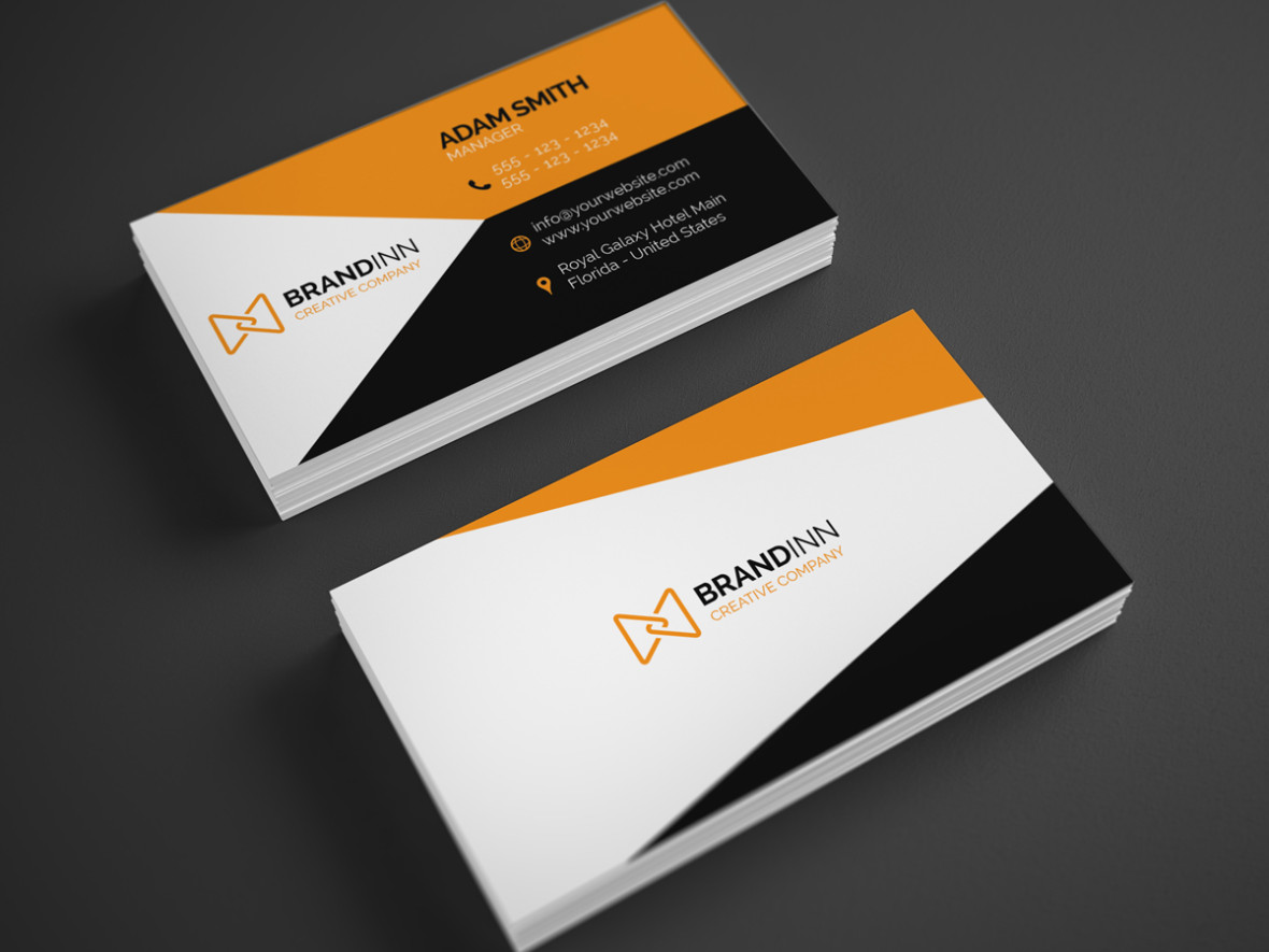 Corporate business card business card tips corporate business card reheart Choice Image