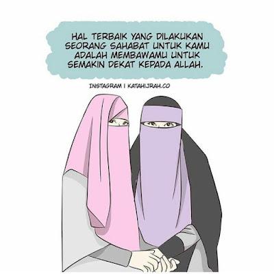 DP BBM Wanita Muslimah Bercadar