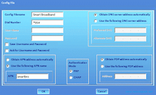 How to Setup Smart Bro APN Settings and Dashboard Configuration