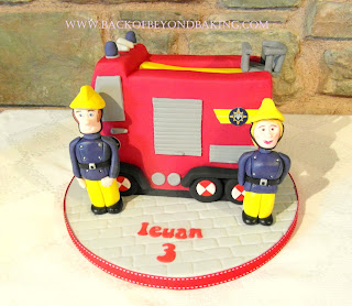 Fireman Sam, Penny and Jupiter cake