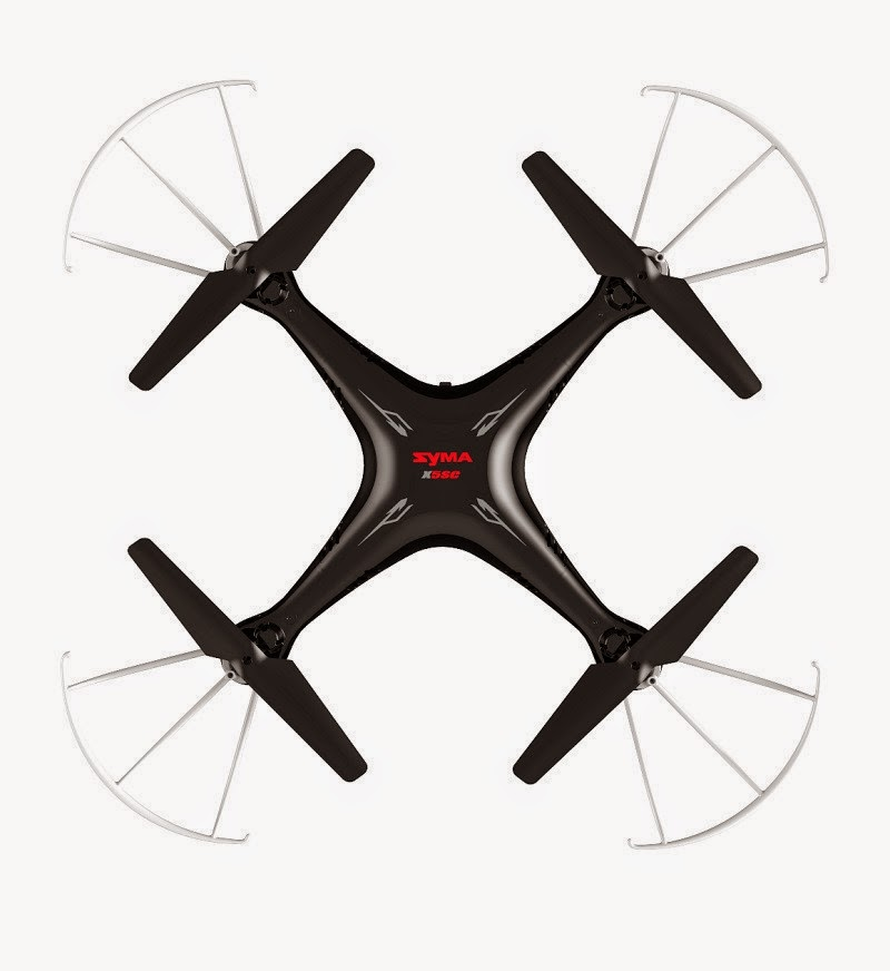 Syma X5SC X5S Explorers2 Quadcopter Black Edition