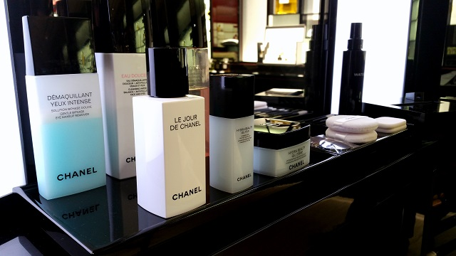 chanel beauty boutique firenze, veronique tres jolie, chanel skin care