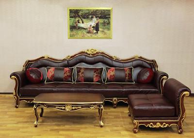 gambar sofa sudut mewah