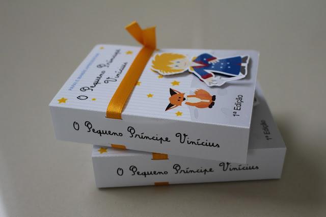 convite livro pequeno principe