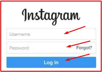 instagram login through facebook account