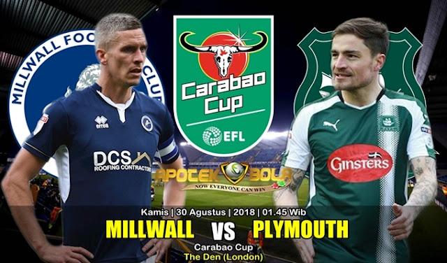 Prediksi Millwall Vs Plymouth Argyle 30 Agustus 2018