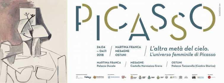Picasso. L'altra metà del cielo, in Puglia fino al 4 novembre