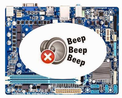 Jarang orang tahu mengenai jenis suara beep dari PC Mengenal Jenis Bunyi ''Beep'' dan Artinya Dengan Praktis